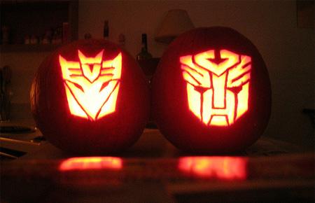 Transformers Pumpkin