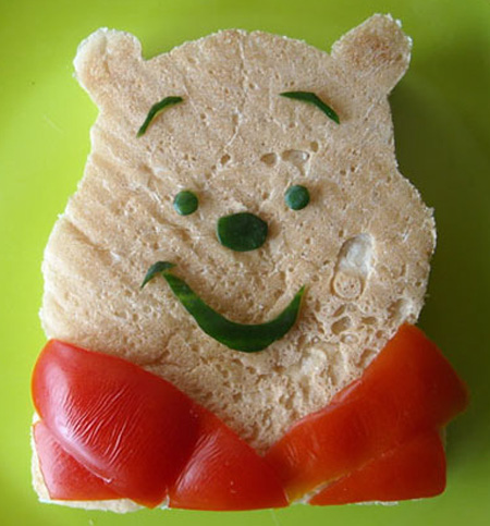 Winnie The Pooh Sandwich