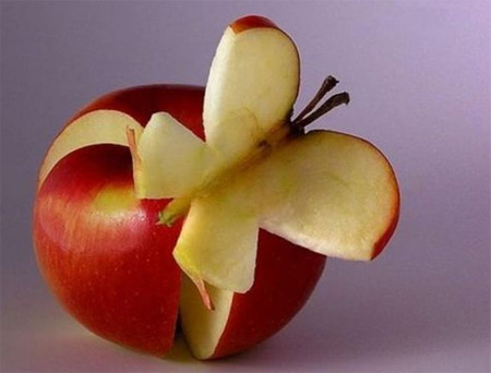 Apple Butterfly