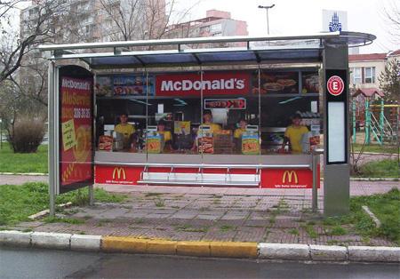 McDonalds Bus Stop