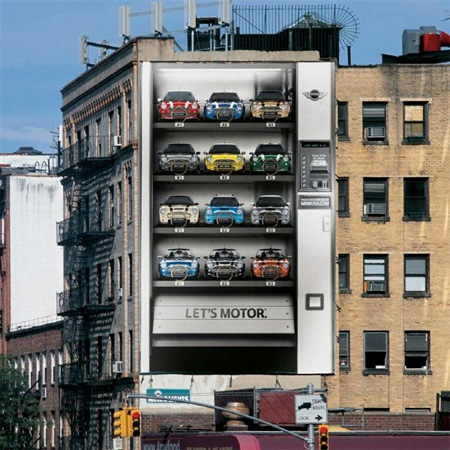 MINI Cooper Vending Machine