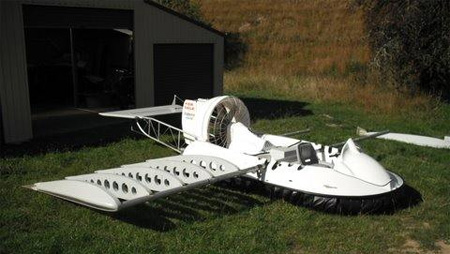 Homemade Flying Hovercraft