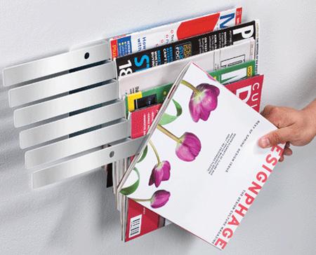 Illuzine Magazine Rack