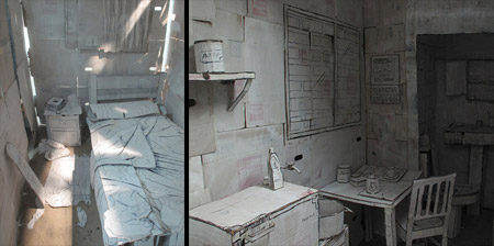 Apartment made from Paper