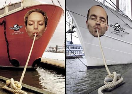 Mondo Pasta Boat Ads