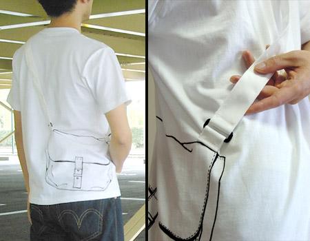 Shoulder Bag T-Shirt