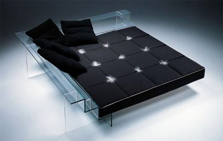 Glass Bed
