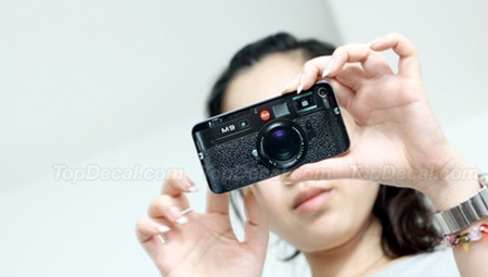 Leica M9 iPhone Sticker