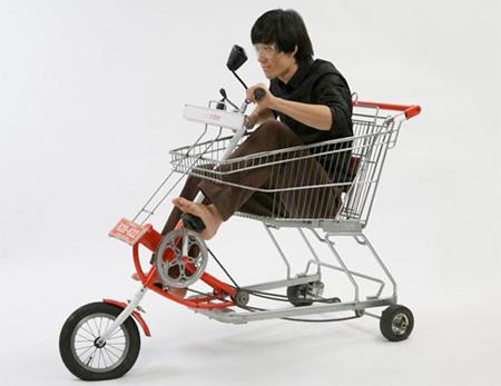 Shopping Cart Bicycle