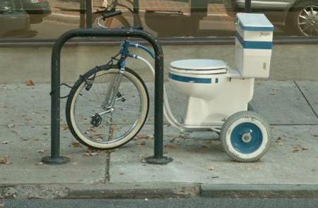Toilet Bicycle