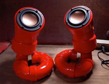 Pipe Speakers