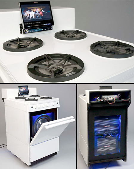 Stove Speakers