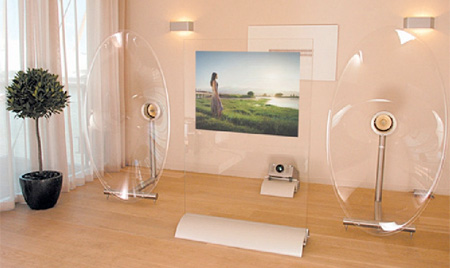 Transparent Speakers