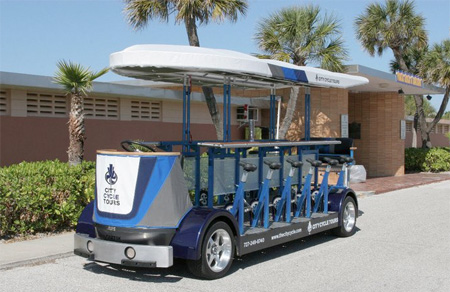 Pedal Powered Bus