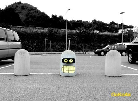 Futurama Street Art