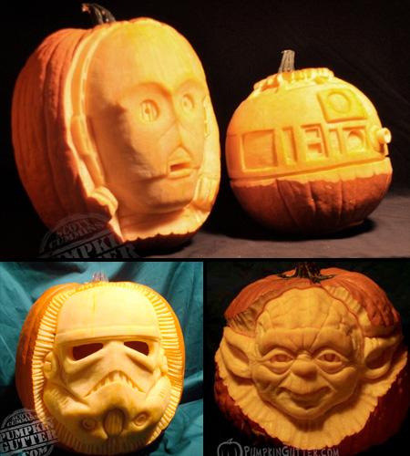 Star Wars Pumpkins