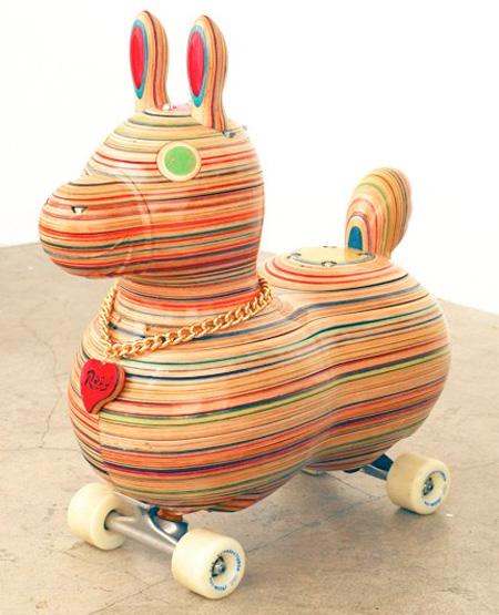 Haroshi Skateboard Art