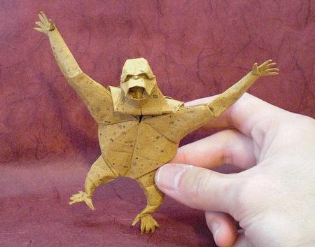 Origami Orangutan