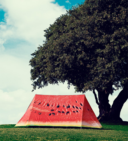 Watermelon Camping Tent