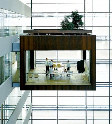 Suspended Meeting Room