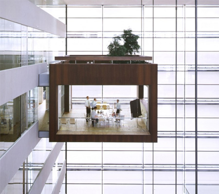 Suspended Conference Room
