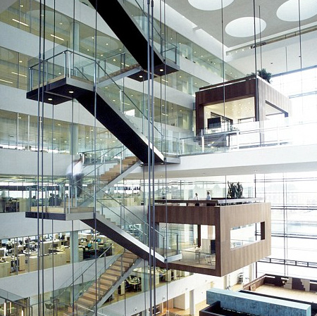 Suspended Conference Rooms