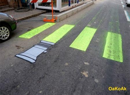 Lightsaber Street Art