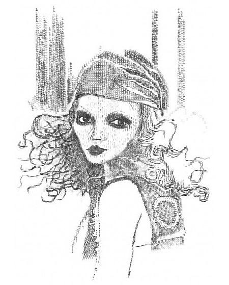 Typewriter Portrait