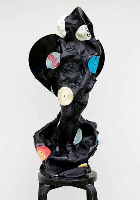 Vinyl Record Sculptures