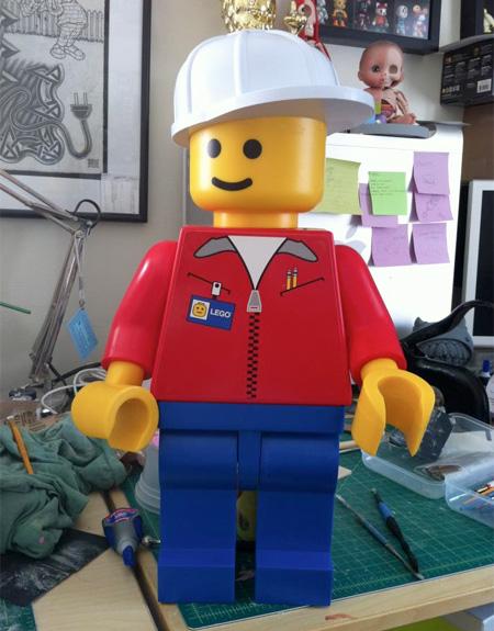 Anatomy of LEGO by Jason Freeny