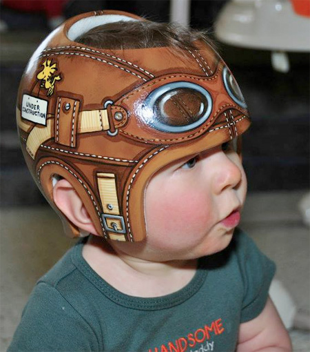 Creative Baby Helmets