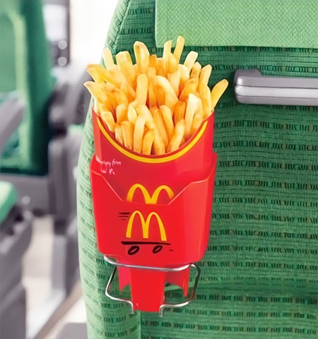 Mcdonald S Fries Holder