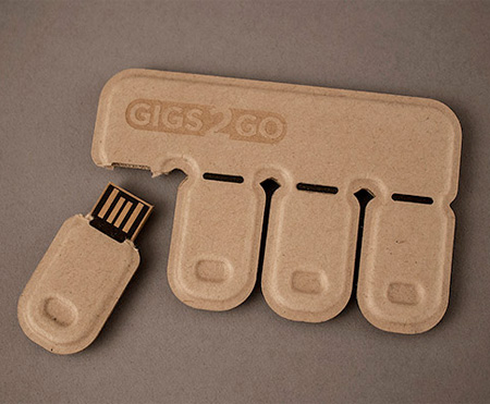 Disposable USB Flash Drives