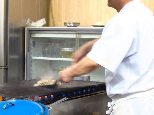 宇宙軒食堂 金沢B級グルメ 秘伝タレの豚バラ定食