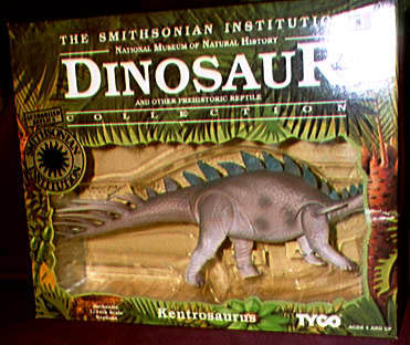 STA Dino Riders The Smithsonian Institution Dinosaur Collection 1992