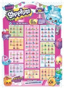 Shopkins Season 4 Checklist