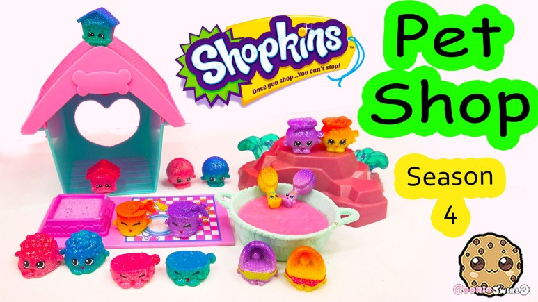 Season 4 Shopkins Pet Shop Full Collection