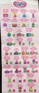 Shopkins Fashion Spree Season 4 Collectors Guide