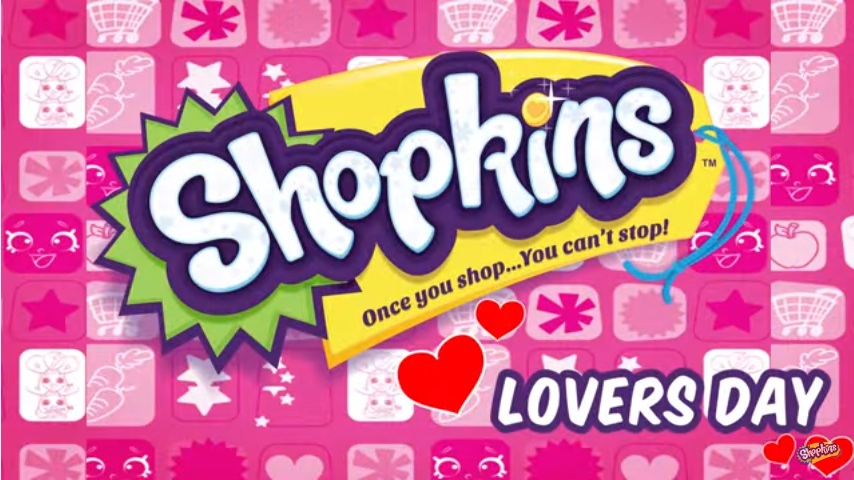 Shopkins Cartoon Episode 11 Lovers Day