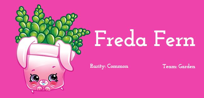 Shopkins Season 5 Character Freda Fern