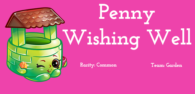 Shopkins Season 5 Character Penny Wishing Well
