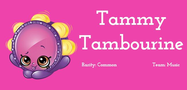 Shopkins Season 5 Character Tammy Tambourine
