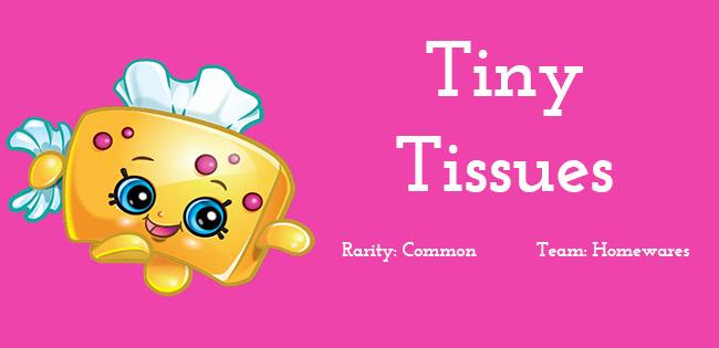 Shopkins Season 5 Character Tiny Tissues