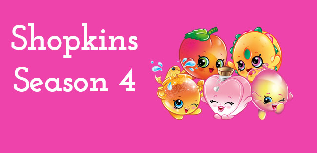 Season 4 Shopkins Characters