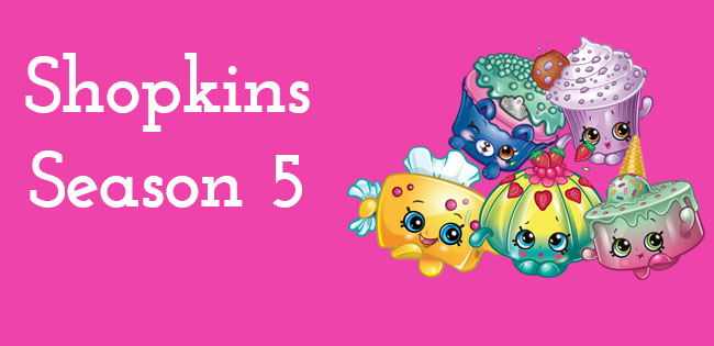 Season 5 Shopkins Characters
