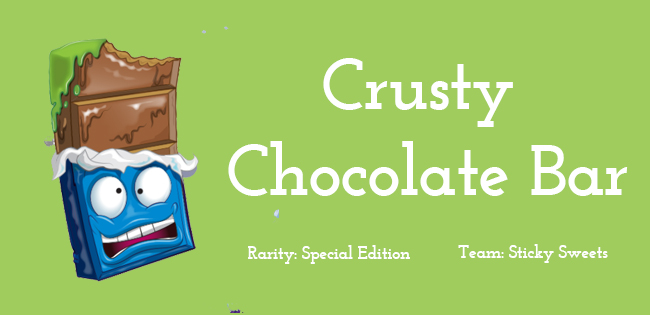 Crusty Chocolate Bar