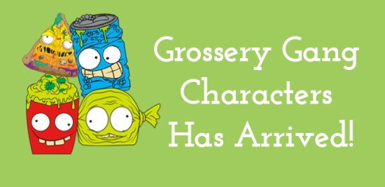 Grossery Gang Characters