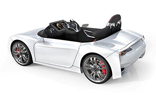 Kids Electric Sports Car Henes Broon F830 White