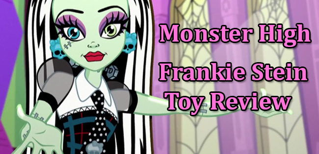 Monster High Frankie Stein Toy Review