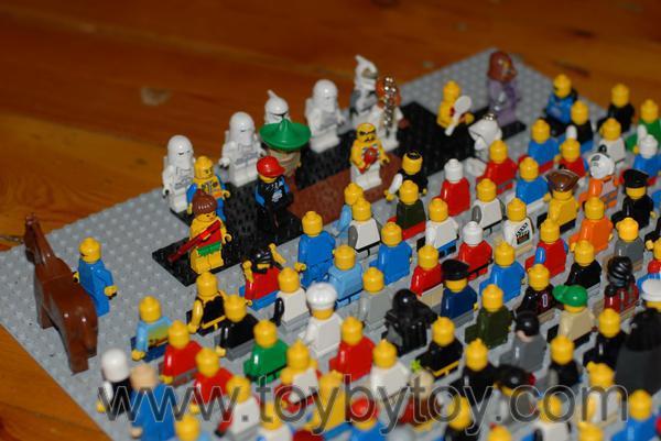 Лего человечки - разные минифигурки Лего